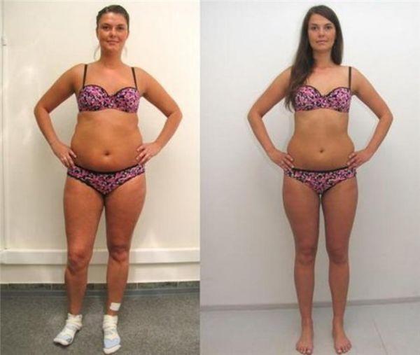 Фото до и после безуглеводной диеты