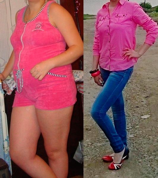 До и после диеты 7 лепестков