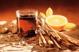 Чай и корица