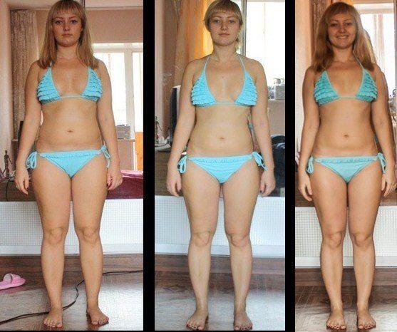 Фото до и после диеты 90 дней