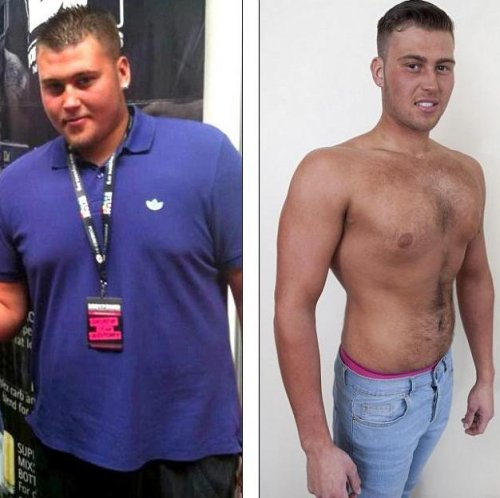 Фото до и после диеты для мужчин