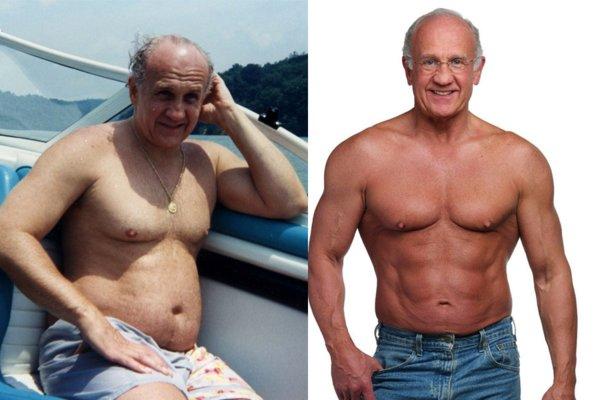 Фото до и после похудения мужчин