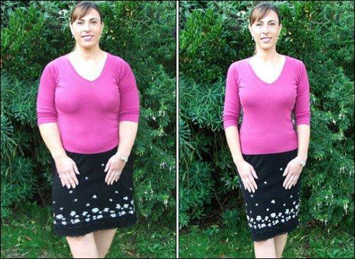 Фото похудевших после диеты 5 ложек