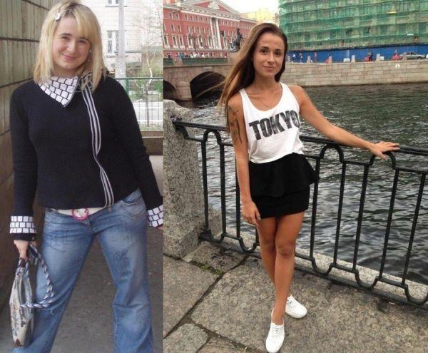 Результат ленивой диеты