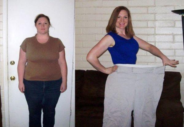 Фото до и после питьевой диеты