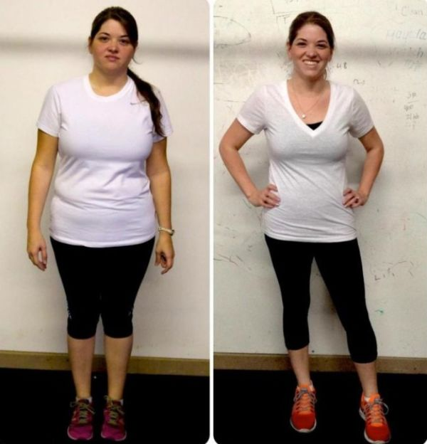 Фото похудения на питьевой диете