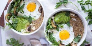 Каша с яйцами