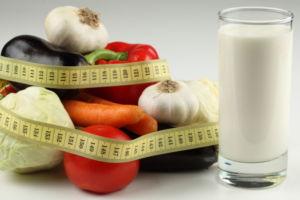 Кефирно-овощная диета