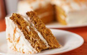 Морковный торт овсяный