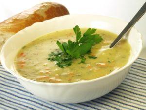 Овощной суп-пюре с репой