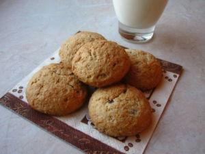 Печенье овсяное творожное