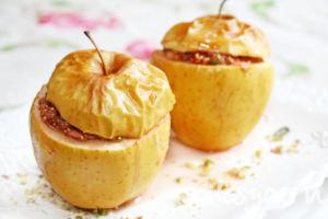 Яблоки запеченые