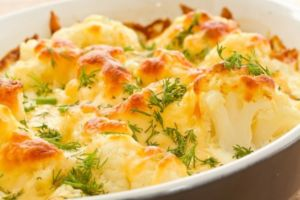 Цветная капуста с сыром