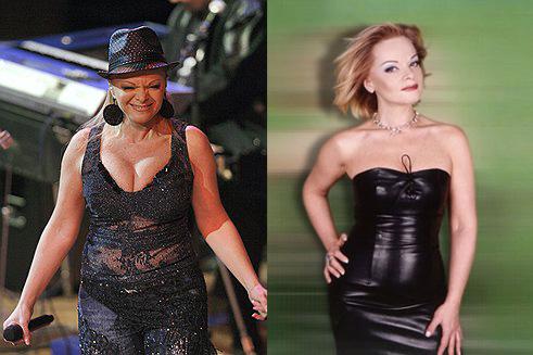 Лариса Долина до и после диеты