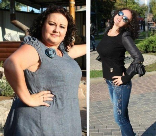 Фото после похудения на перловой диете