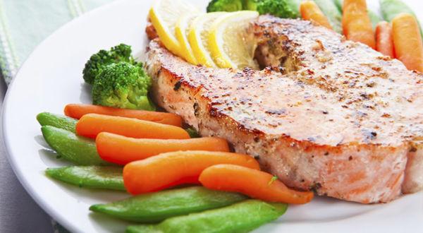 Обед здорового питания