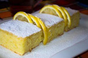 Лимонный пирог