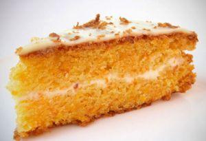 Морковный пирог в духовке