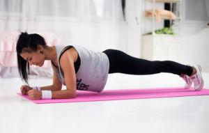 Планка упражнение