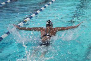 Плавание баттерфляй