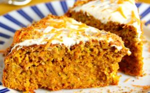 Тыквенно-морковный пирог