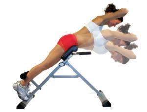 Упражнение гиперэкстензия