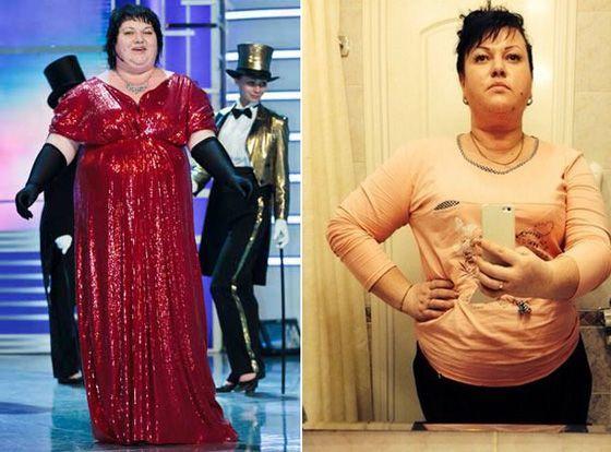 Фото Ольги Картунковой до и после