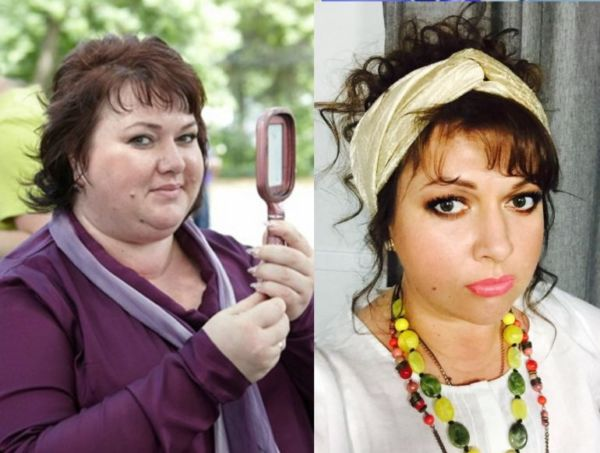Фото Картунковой до и после