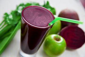 Фруктово-овощной коктейль