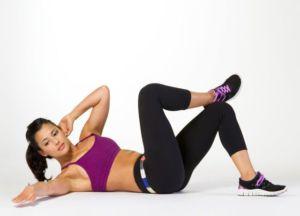 Упражнение скручивание