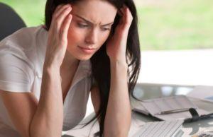 У женщины стресс