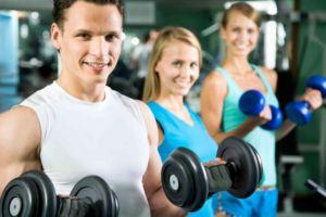 Упражнение для сушки тела и рук