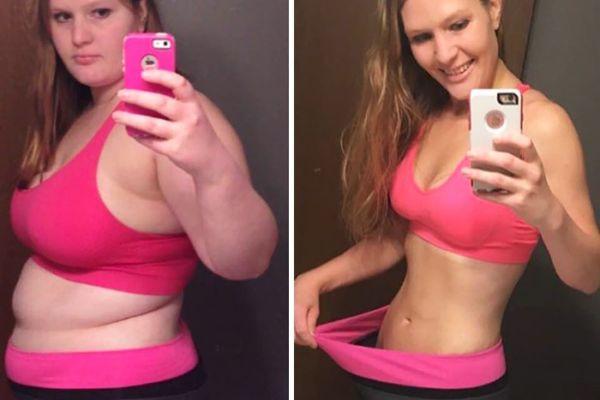 Фото до и после похудения рисовой диеты