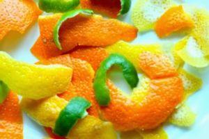 Корки фруктов