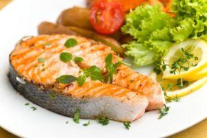 Рыба печеная