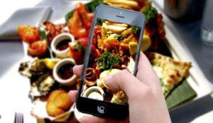 Фотография еды на телефон