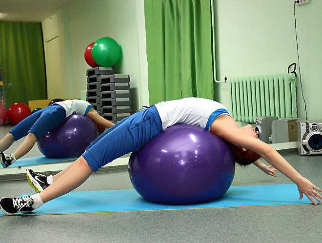 Упражнение для расслабления спины