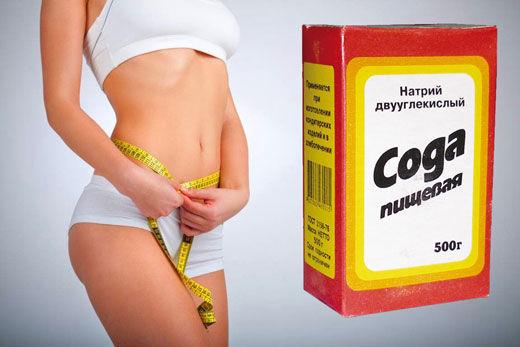 Как похудеть с содой пищевой за неделю