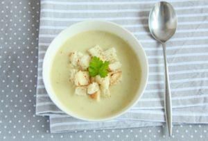 Крем-суп из кольраби