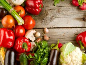 Овощи диеты