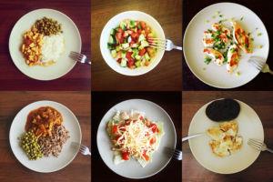 Размер порций
