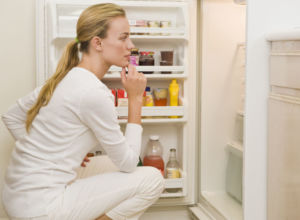 Чувство голода у женщины