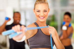 Тренировки с эластичной лентой