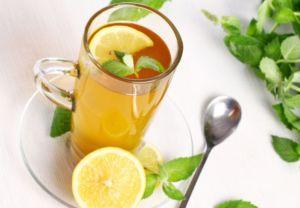 Зеленый чай с цитрусом