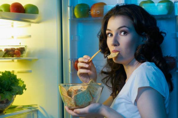 Как худеть без вреда для здоровья Люблю поесть ночью