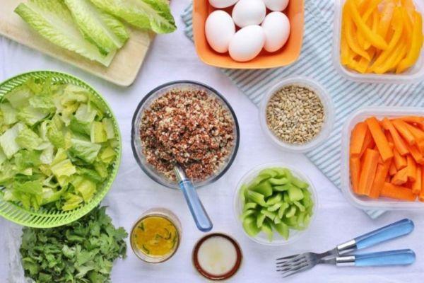 Правильная еда для похудения на неделю