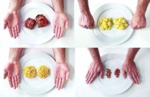 Еда порциями