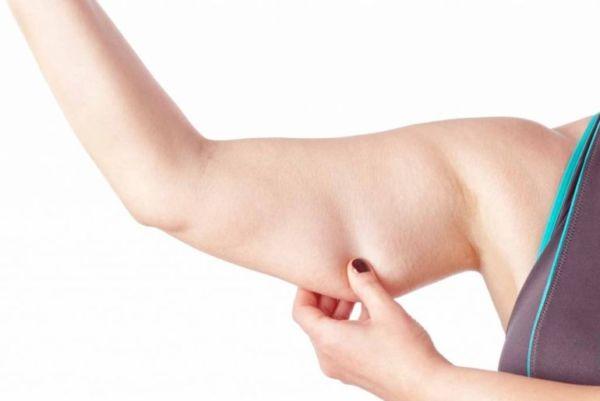Как убрать жир с подмышек спереди быстро и эффективно